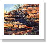 Adcock Gorge painting